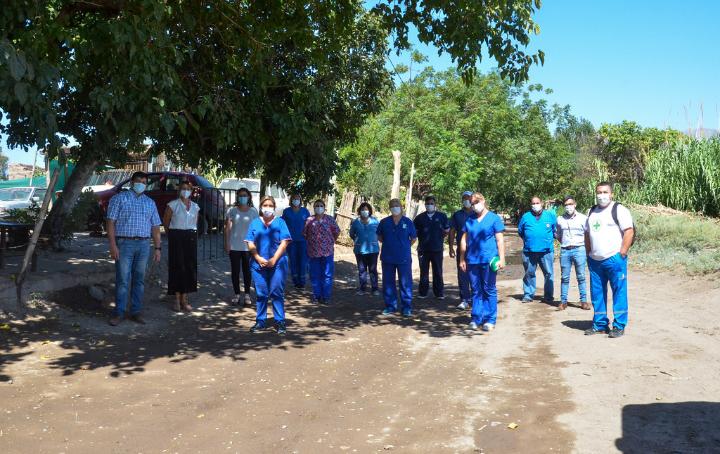 Controles sanitarios y asistencia psicosocial a los afectados por el sismo