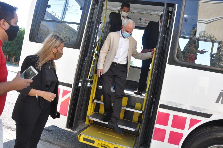 Rawson: Red Tulum trae mejoras para el transporte público