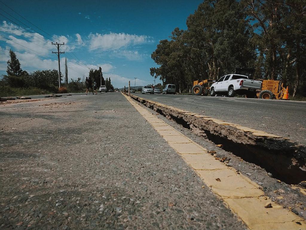 Avanzan los trabajos en las rutas de la provincia afectadas