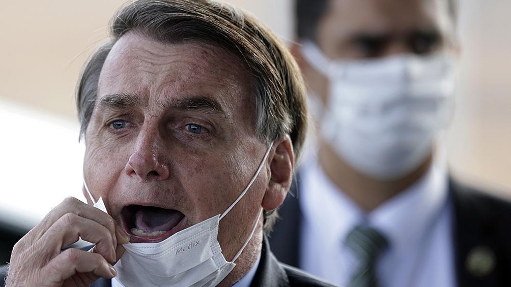 El limitado Bolsonaro insistió en que las vacunas contra el coronavirus «no están comprobadas científicamente»