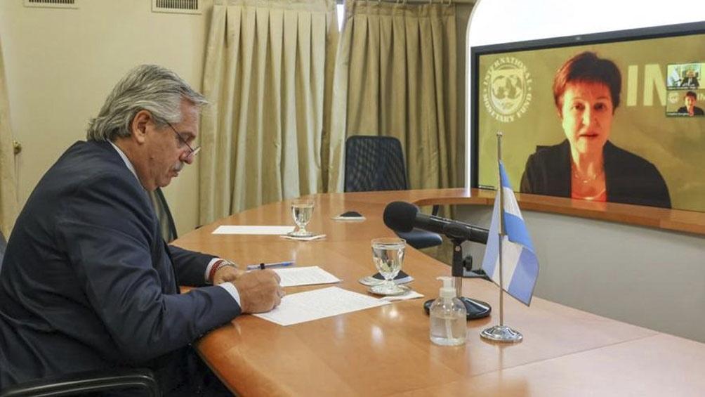 FMI: Ratificó su compromiso de trabajar con la Argentina para la estabilidad y el crecimiento