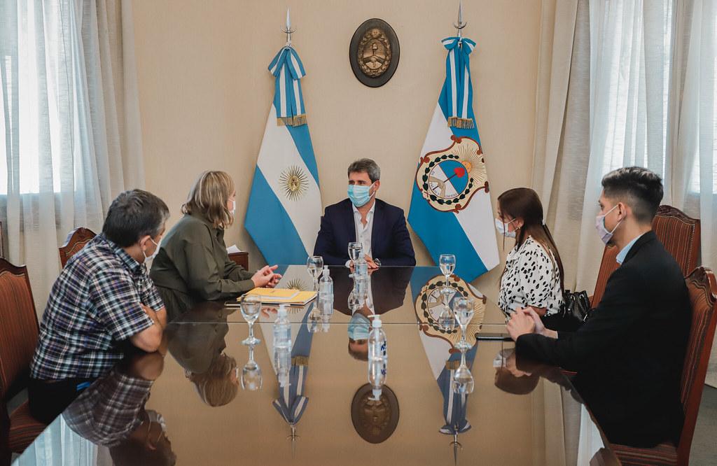 El gobernador Sergioi Uñac se reunió con la presidenta del Correo Argentino