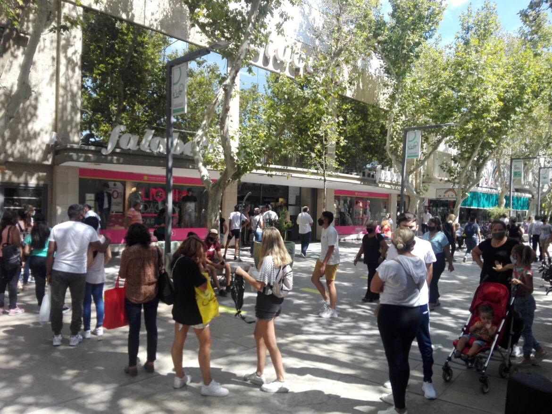 Falabella arrasa con las ventas en la peatonal