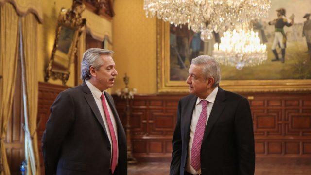 El Presidente Alberto Fernandez viaja a Mexico