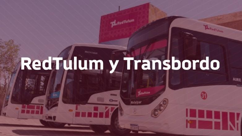 Cómo funcionará el transbordo con RedTulum