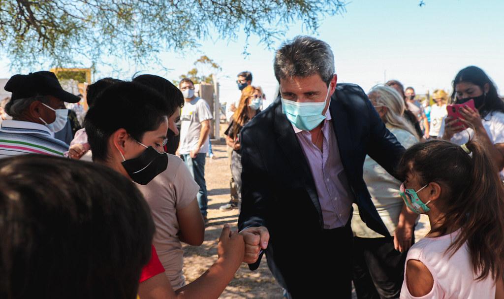 El Gobernador Uñac inauguró obras para los habitantes de La Planta y Marayes