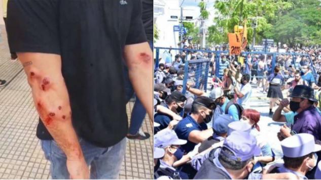 Formosa: Violento desalojo de una protesta contra el regreso a la fase 1