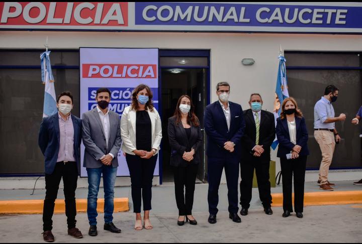 Caucete: Nueva sede de la Policía Comunal