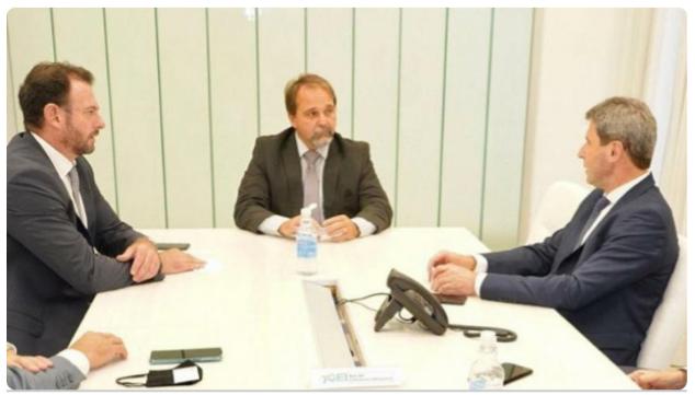 El Gobernador Uñac disertó ante empresarios en OEI Argentina