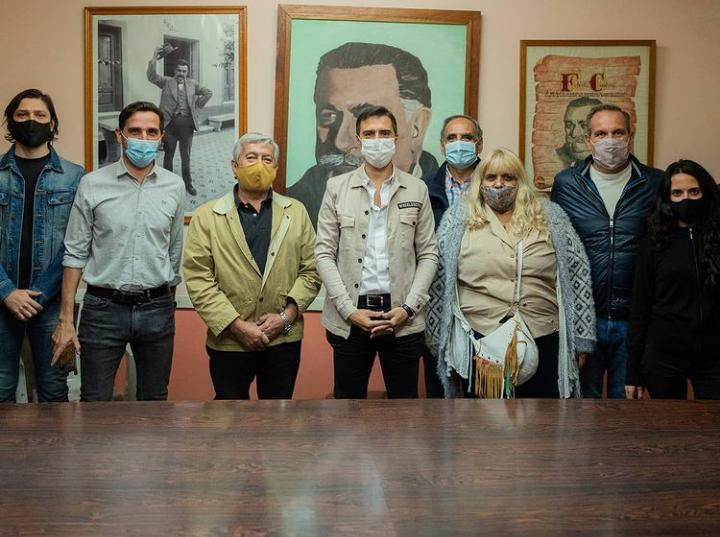 Reunión en el Comité Bloquista