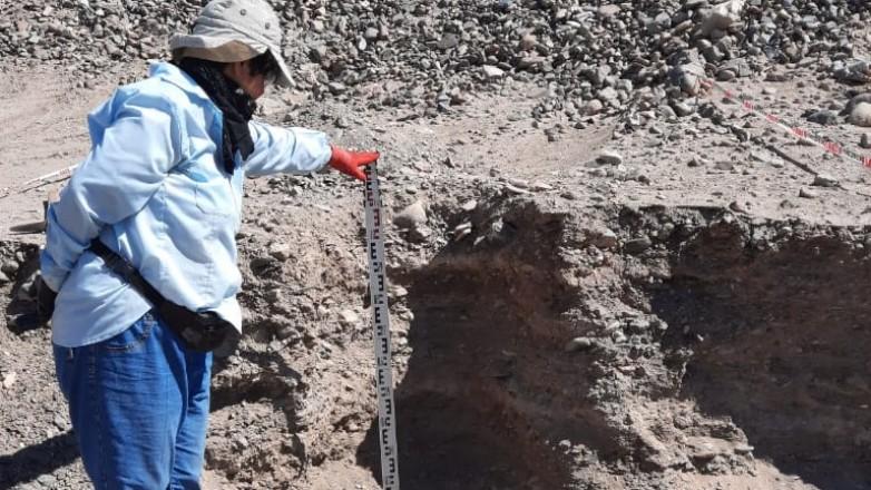 Hallaron restos arqueológicos en Iglesia