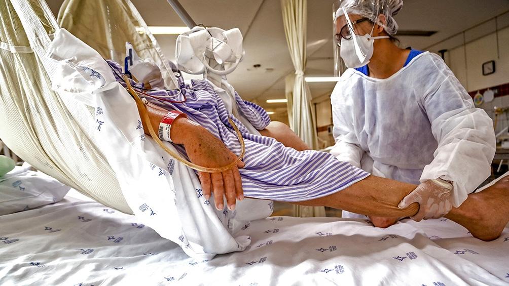 Brasil el peor colapso hospitalario de su historia