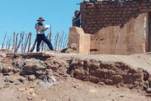 Caucete: Tareas para las viviendas de Marayes y La Planta