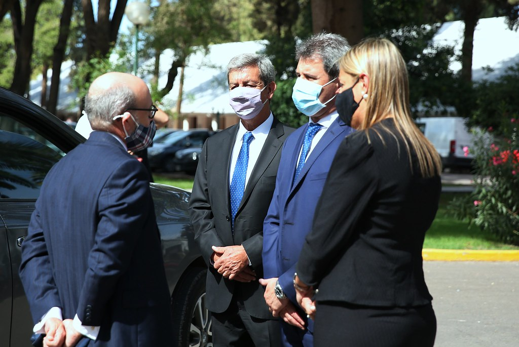 Saludos protocolares al embajador de Canadá en Argentina y Paraguay