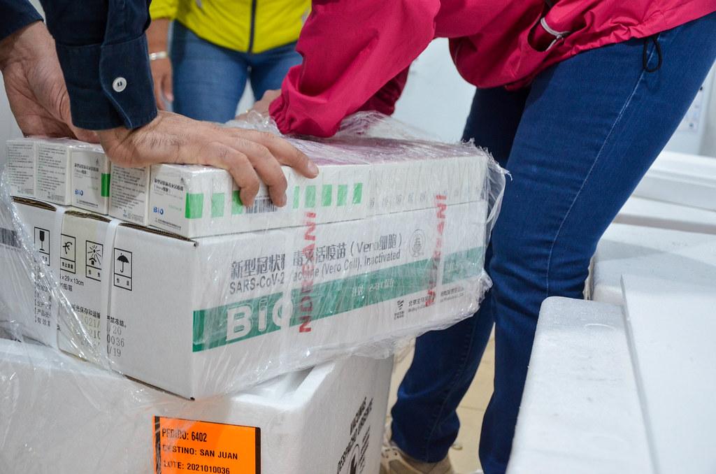 Arribaron a la provincia 9000 dosis de la vacuna Sinopharm