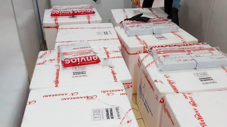 San Juan recibió 6000 nuevas dosis del primer componente de la vacuna Sputnik V