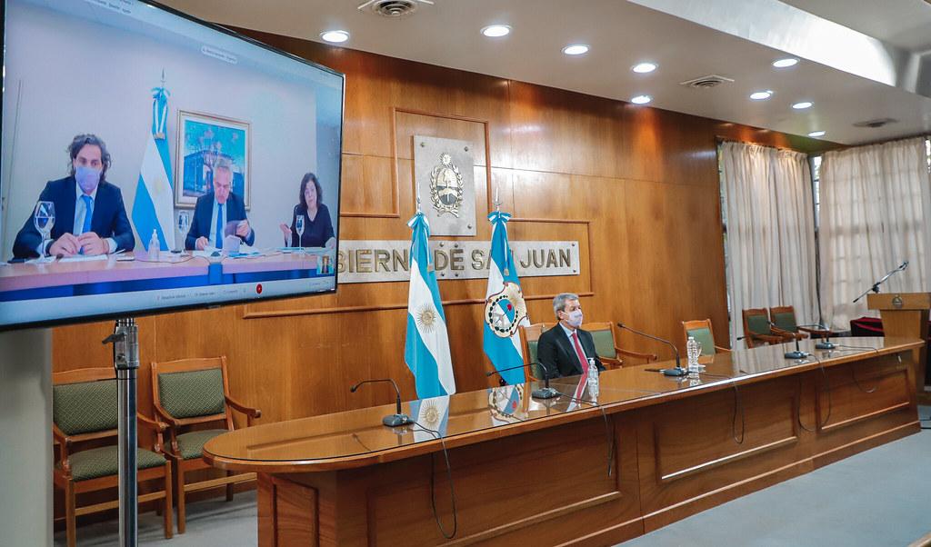 El Vicegobernador Gattoni participó de una videoconferencia con el presidente y gobernadores