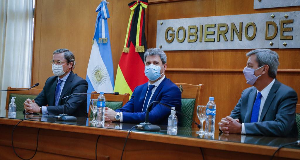 El embajador de Alemania visitó San Juan