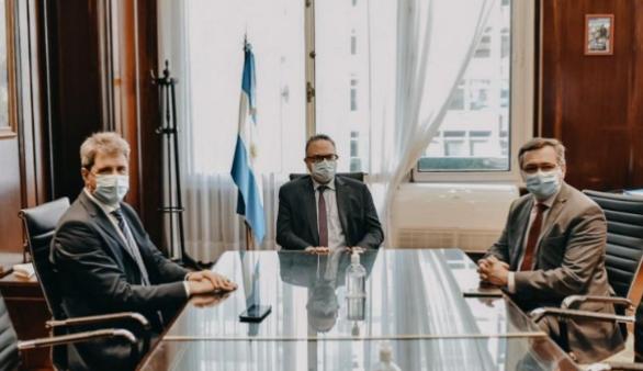 Uñac y Kulfas analizaron el nuevo régimen de fomento a las inversiones