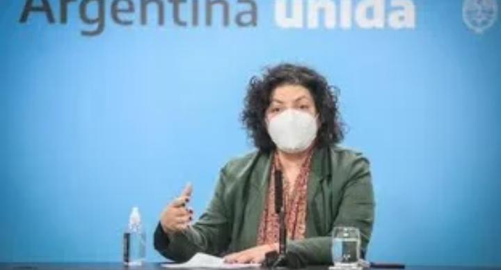 Carla Vizzotti repudió las fake news de periodistas frente a la segunda ola de COVID