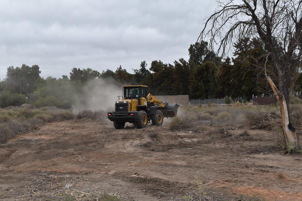 Santa Lucía: Saneamiento integral de lotes baldíos