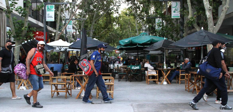 COVID19: Peatonal San Juan sin protocolo