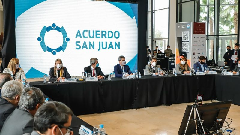 «No habría en lo inmediato nuevas medidas para San Juan»