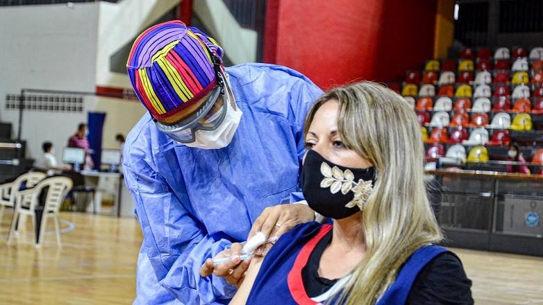 Décimo Parte de Vacunación en la provincia de San Juan