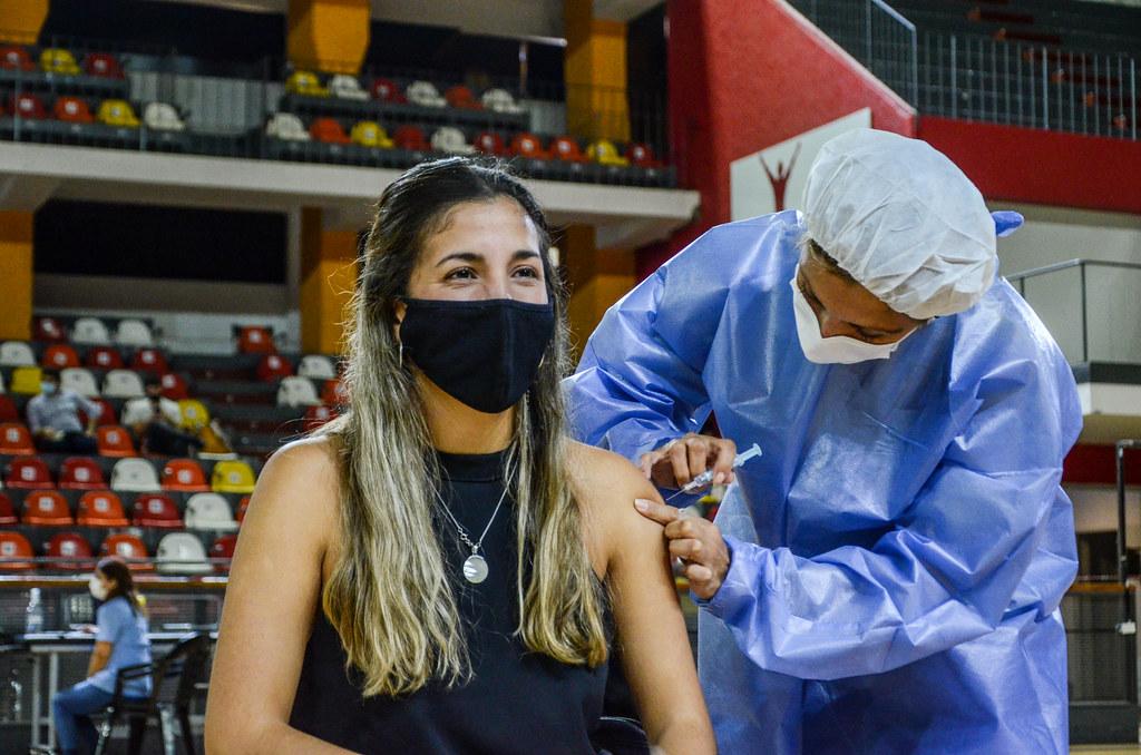 Parte de vacunación en la provincia de San Juan