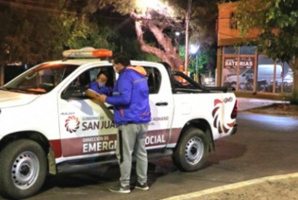 Operativo de invierno para asistir a personas en situación de calle