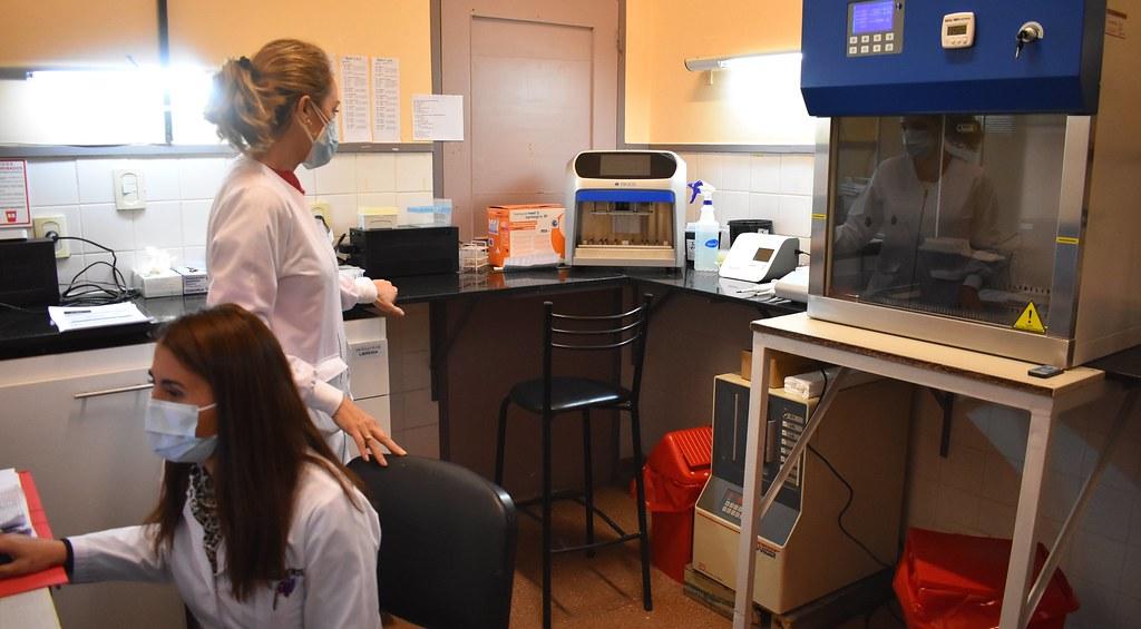 El Hospital Marcial Quiroga comenzó este martes a procesar PCR para SARS-CoV-2
