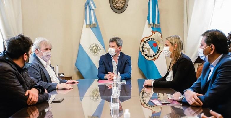 El Gobernador Uñac recibió al titular del Comité de Lucha contra la Trata de Personas para la protección y asistencia a sus víctimas