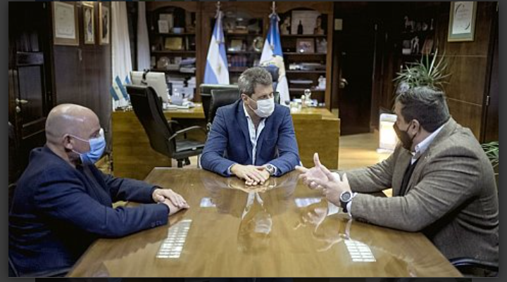 El gobernador recibió al defensor de los Vecinos de la Ciudad de Corrientes