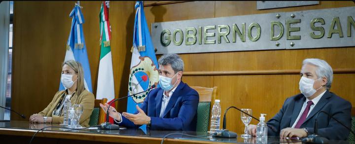 Uñac expuso sobre las cualidades económicas y productivas de San Juan