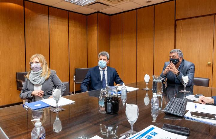 El Gobernador Uñac se reunió con el titular del Enacom, Claudio Ambrosini