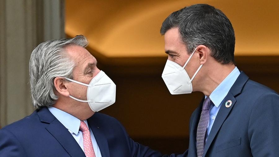 El Presidente recibe a Pedro Sánchez