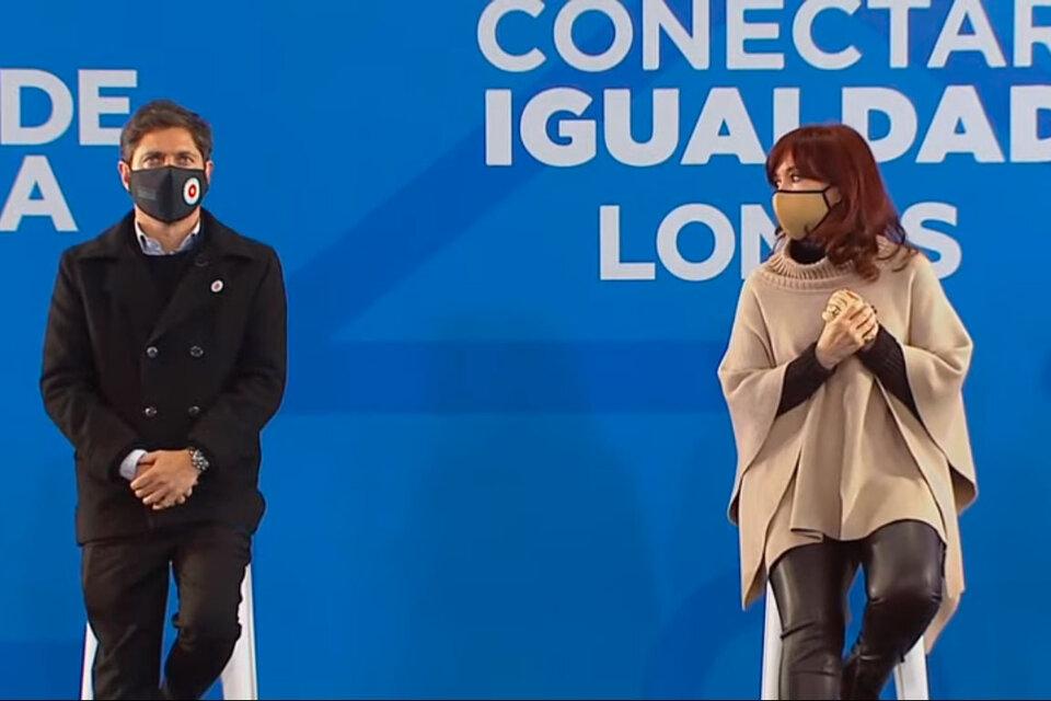 Cristina Kirchner: «Los derechos universales siempre dan resultado»