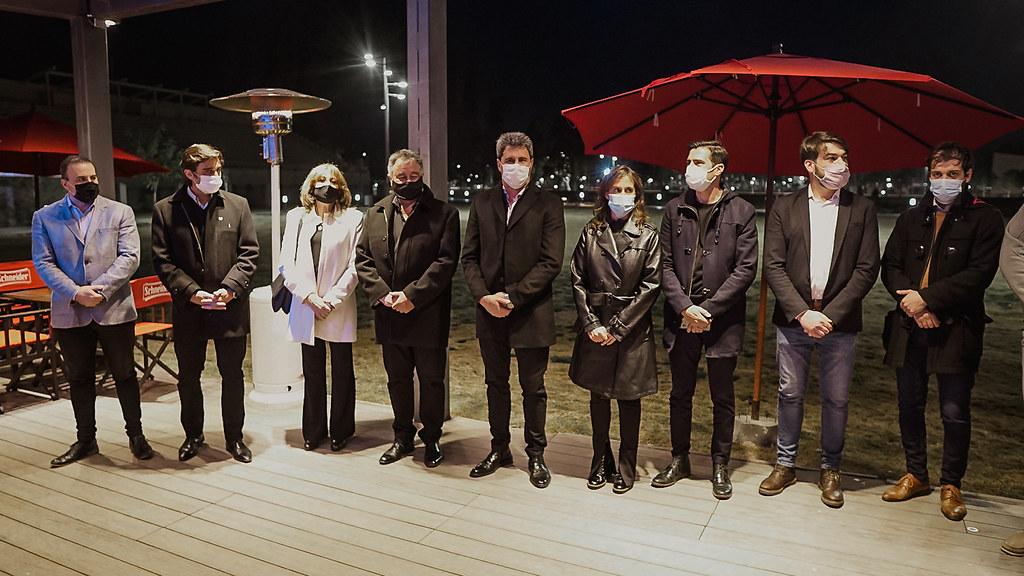 Inauguración de la nueva confitería del Parque de Mayo