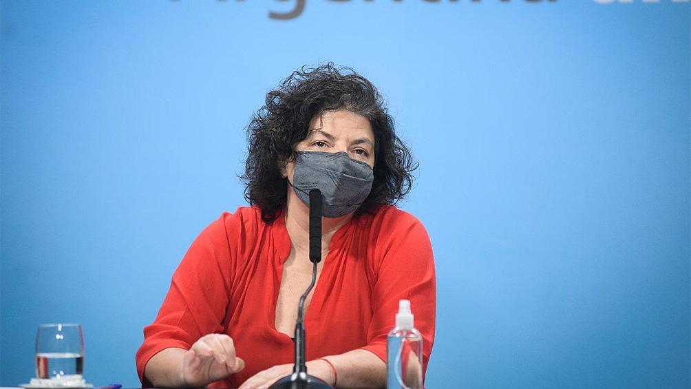 Vizzotti ratificó: «La prioridad uno del gobierno es completar los esquemas de vacunación»