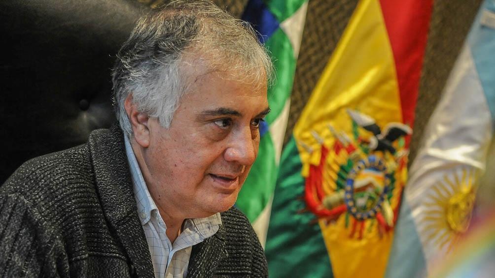 Según el embajador de Bolivia, «se ha corroborado» con una nota el ingreso de armas