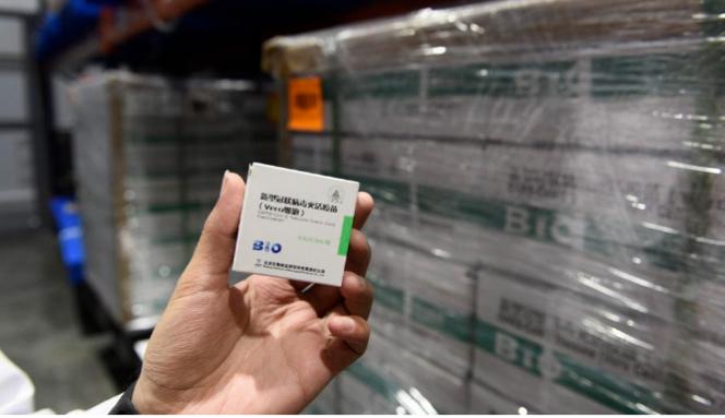 Llegan hoy las primeras 800 mil dosis de las 8 millones de vacunas de China