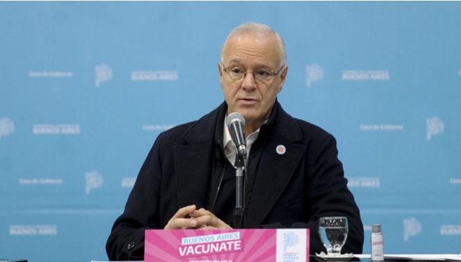 Gollan: todas las vacunas que se aplican en el país «son eficientes, incluso para la variante Delta»