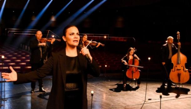 Deslumbrante pieza audiovisual del Himno Nacional en el TB