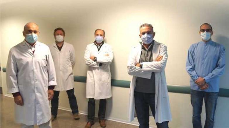 Nuevo trasplante de córnea en el Hospital Rawson