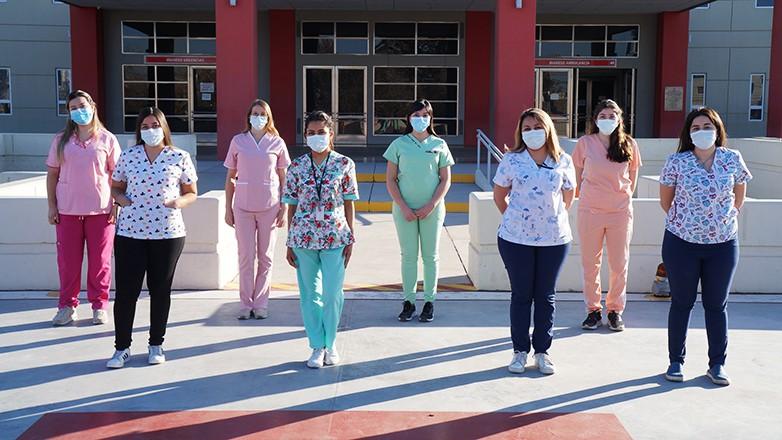La Residencia de Enfermería del Rawson crece a diario