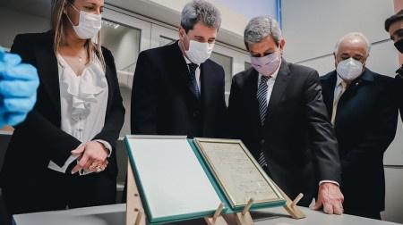 Las particularidades del documento de Sarmiento que volvió a su origen