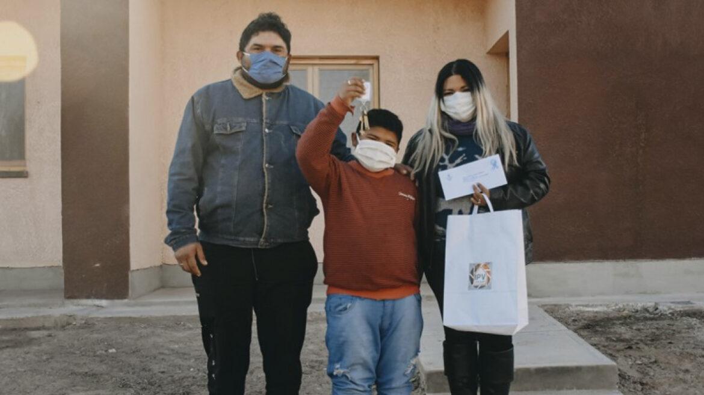 25 De Mayo: Entrega de viviendas