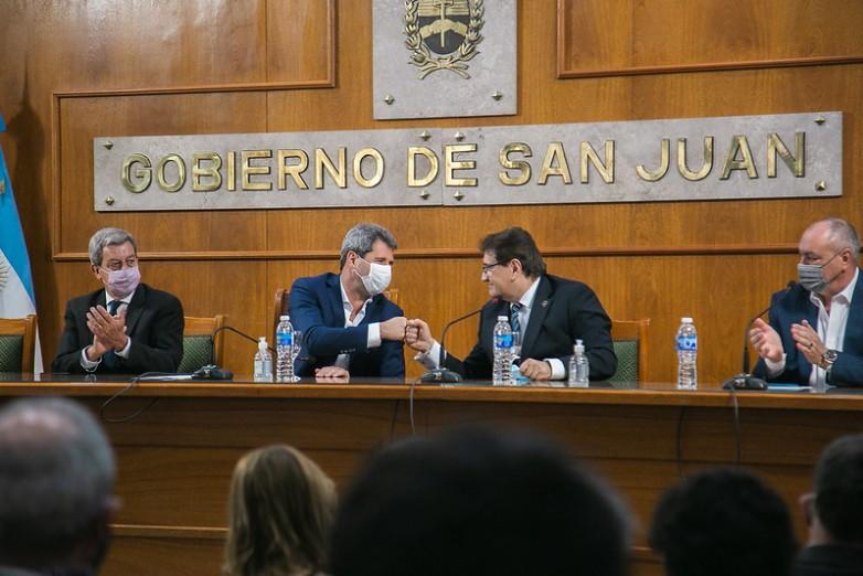 El gobernador Uñac anunció la nueva ubicación de la futura Ciudad Judicial