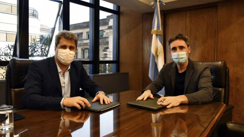 El gobernador Uñac se reunió con el titular del CFI, Ignacio Lamothe